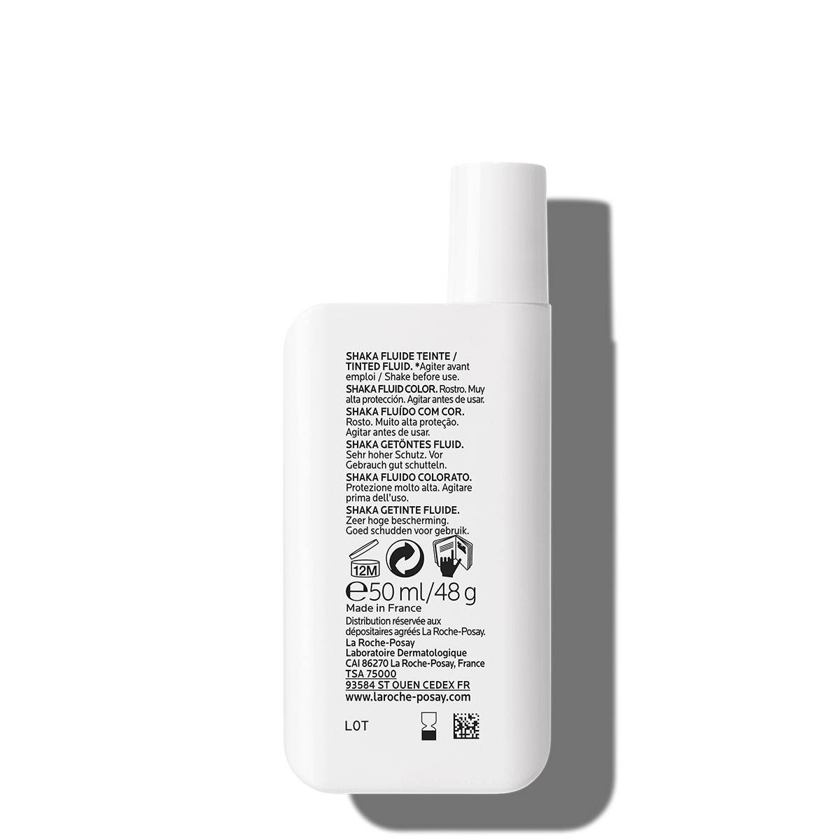 La Roche Posay ProductPage Sun Anthelios Shaka Fluid Spf50 50ml 301626