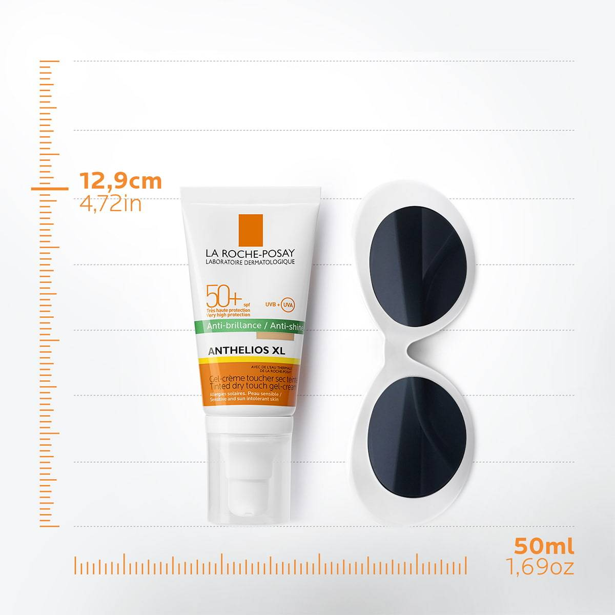 La Roche Posay ProductPage Sun Anthelios XL Tinted Dry Touch Gel Cream