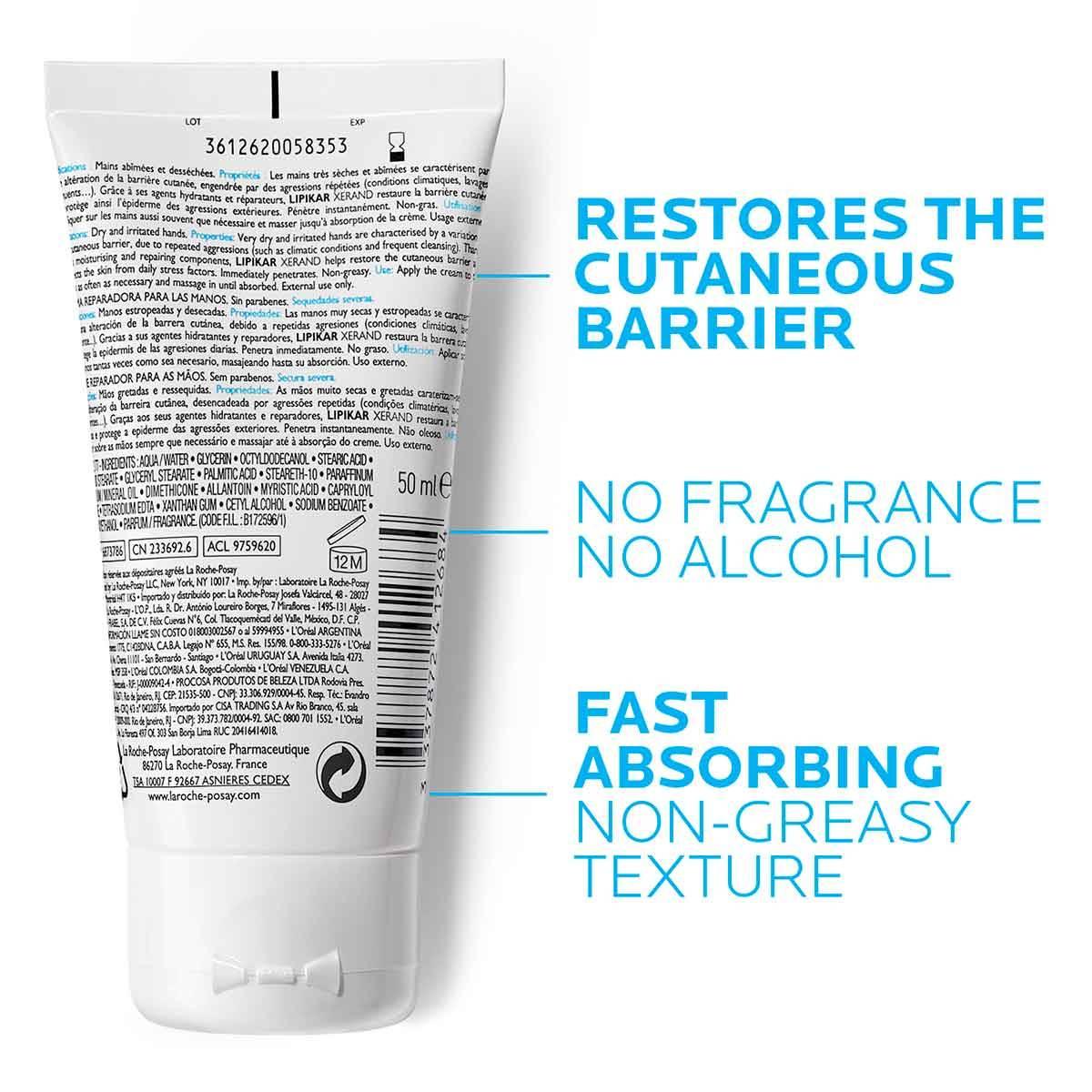 La Roche Posay ProductPage Eczema Lipikar Xerand 50ml 3337872412684 Zo
